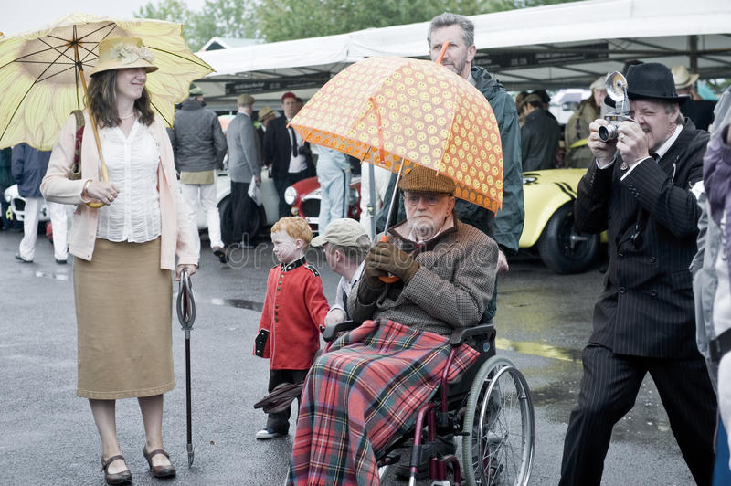 Download Goodwood revival visitors. editorial stock photo. Image of auto - 21273573
