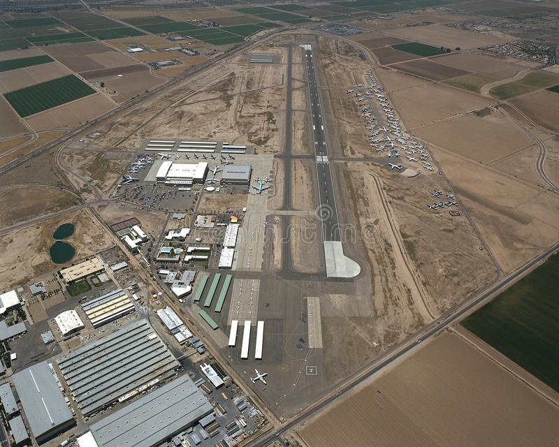 Goodyear Airport stock photography