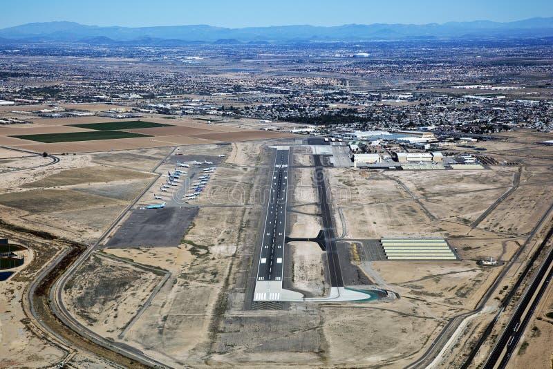 Goodyear Airport royalty free stock photos