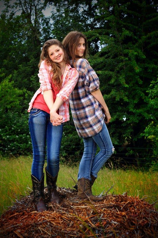 Goofball BFF Girls stock image. Image of girlfriend, adolescents ...