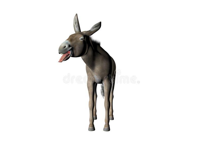 Download Goofy Donkey Three stock illustration. Image of close, rural - 866821