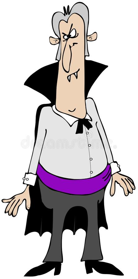 Download Goofy Vampire stock illustration. Image of fang, male - 35453508
