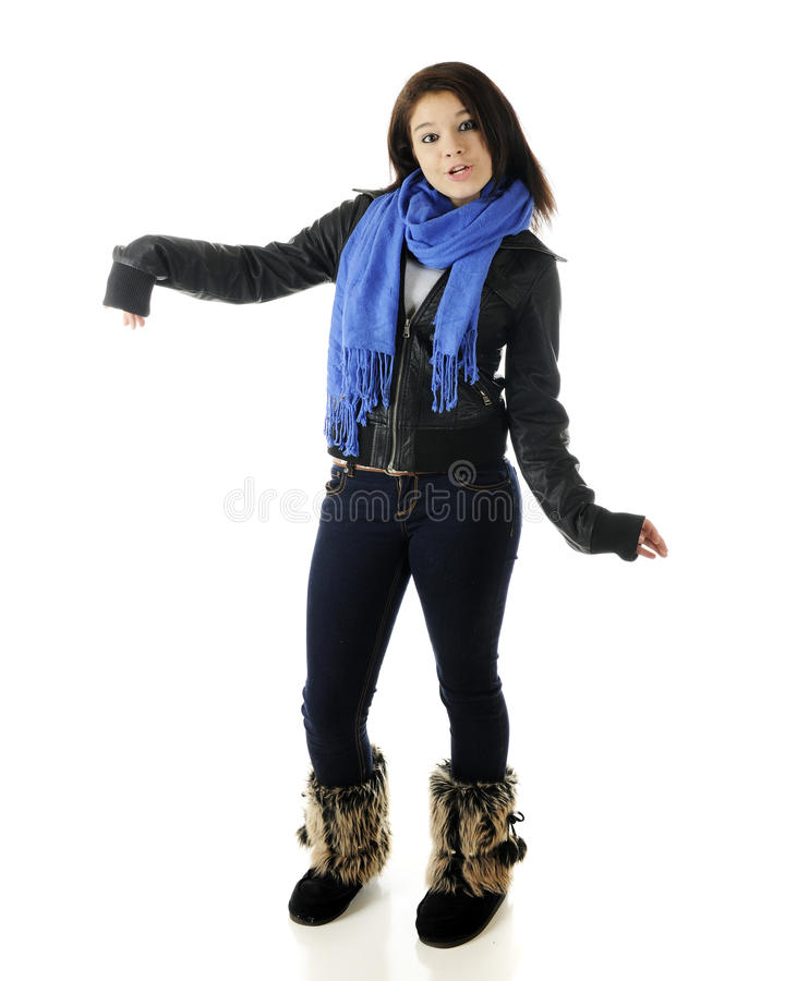 Goofy Young Teen Stock Images