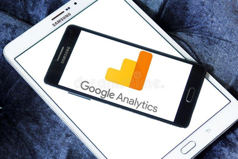 Google Analytics logo stock image