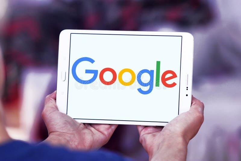 Google-bedrijfembleem stock afbeelding