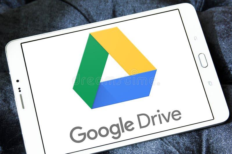 Google conduce el logotipo fotos de archivo