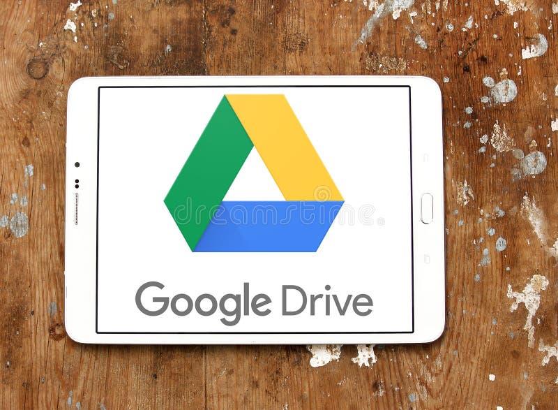 Google conduce el logotipo fotografía de archivo
