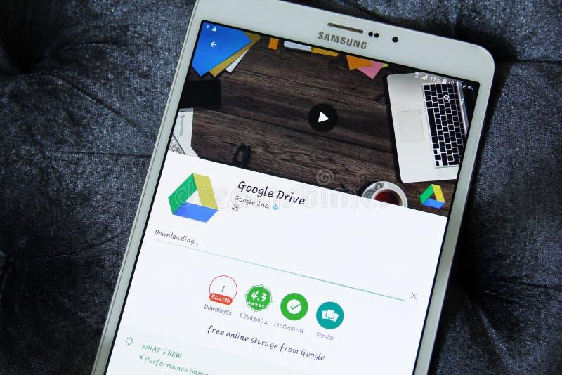 Google conduisent l'APP images stock