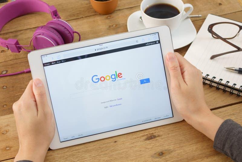 Google is een Amerikaan multi royalty-vrije stock foto