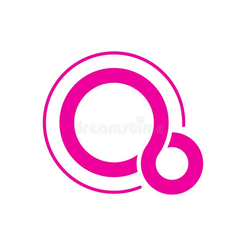 Google Fuchsia OS logo. Fuchsia is a capability-based operating system currently being developed by Google. EPS 10. Google Fuchsia OS logo. Fuchsia is a vector illustration