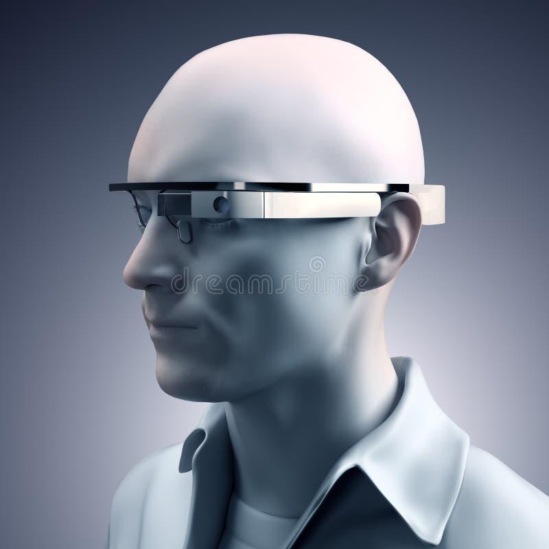 Google-Glas Eyewear lizenzfreie abbildung