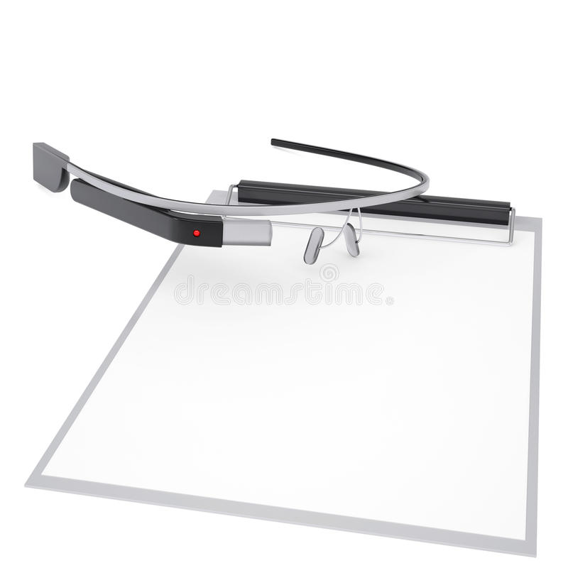 Download Google Glass And Checklist Royalty Free Stock Images - Image: 31882889