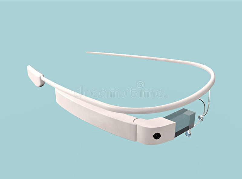 Google glass stock illustration