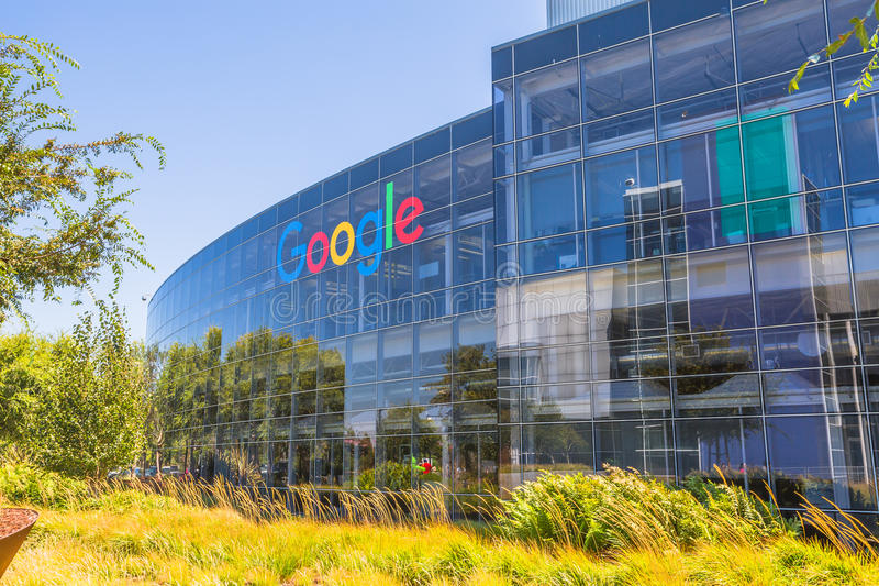 Google headquarters sign editorial photography image of for Google house builder
