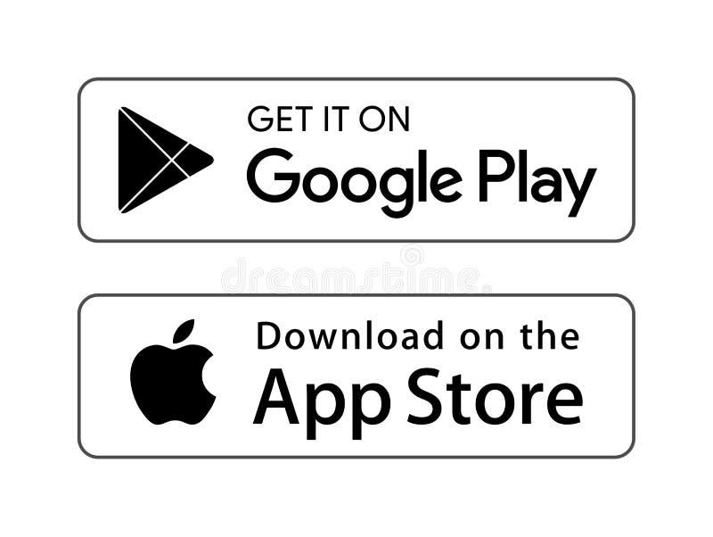 Google icon logo. Simple vector filled flat google icon logo solid pictogram isolated on white background royalty free illustration