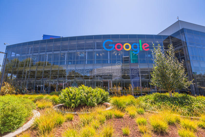 Google ikony fasada obrazy royalty free