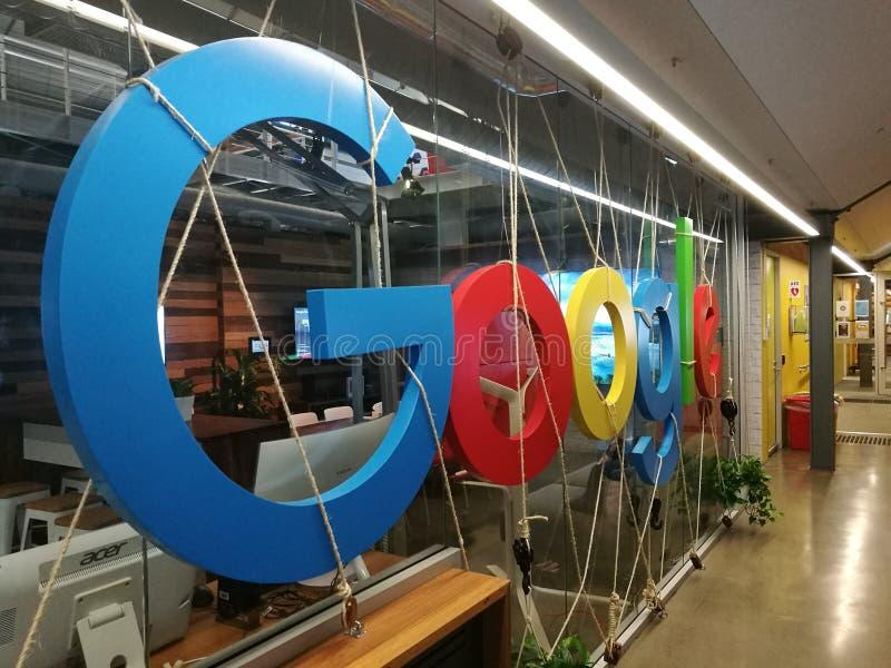 Google kontor arkivfoto