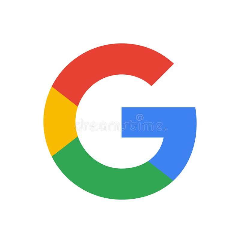 Google Logo. On a white background. vector format available