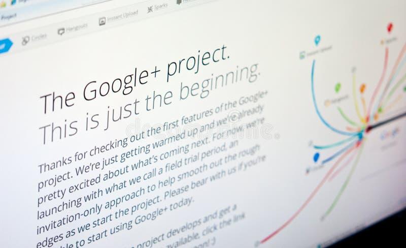 Google mais fotografia de stock