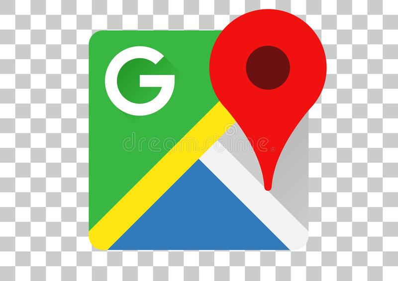 Google Maps apk象 免版税库存图片