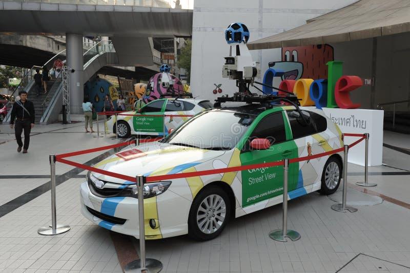 Google Maps Car in Bangkok royalty free stock image