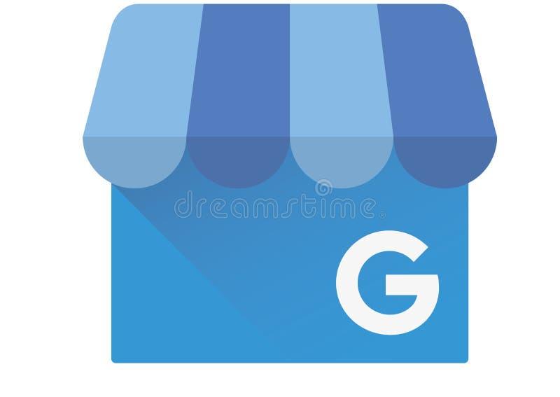 Google Mijn Bedrijfsembleem vector illustratie