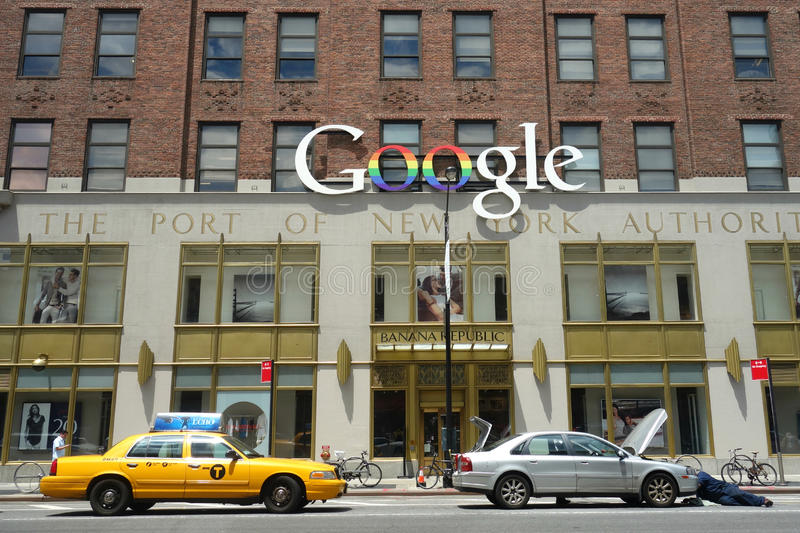 Download Google New York Offices editorial stock photo. Image of silicon - 41815208