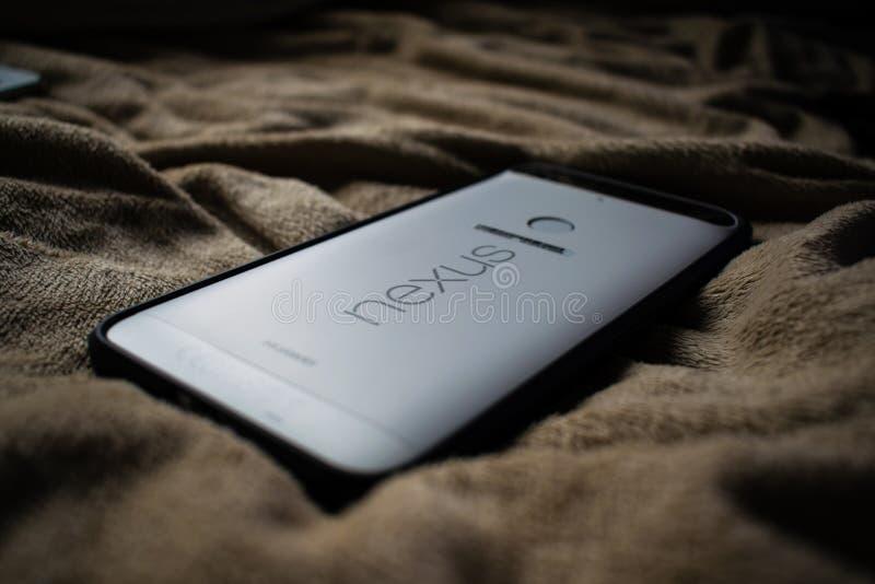 Google ogniwo 6P Smartphone obraz royalty free