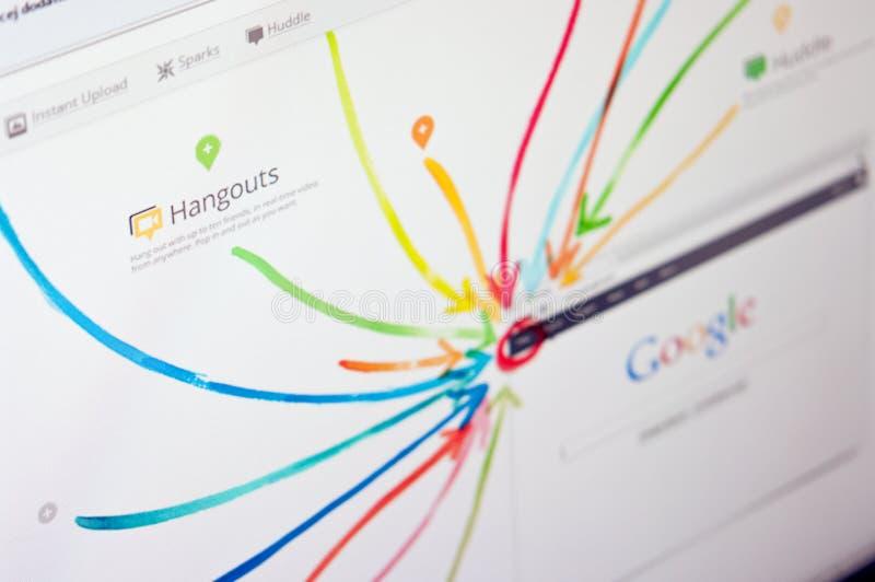 Google più fotografia stock
