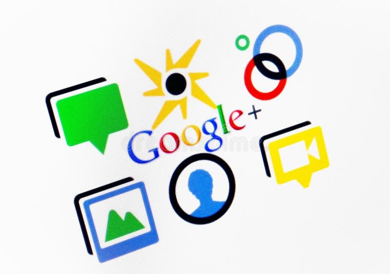 Google più immagine stock libera da diritti