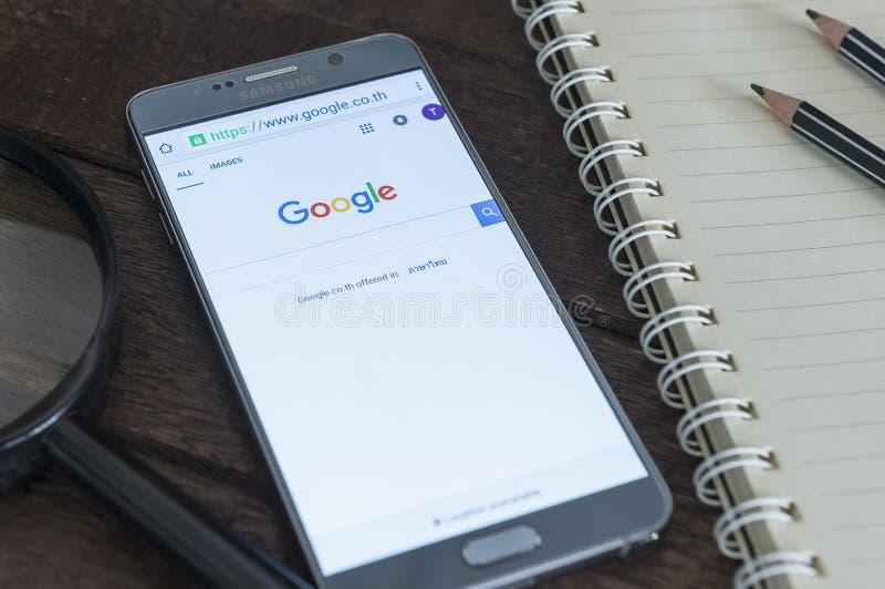 Google söker royaltyfri bild