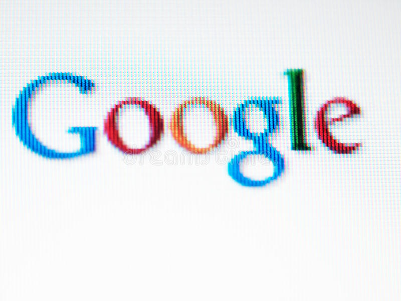 Download Google screen editorial image. Image of company, internet - 17424410