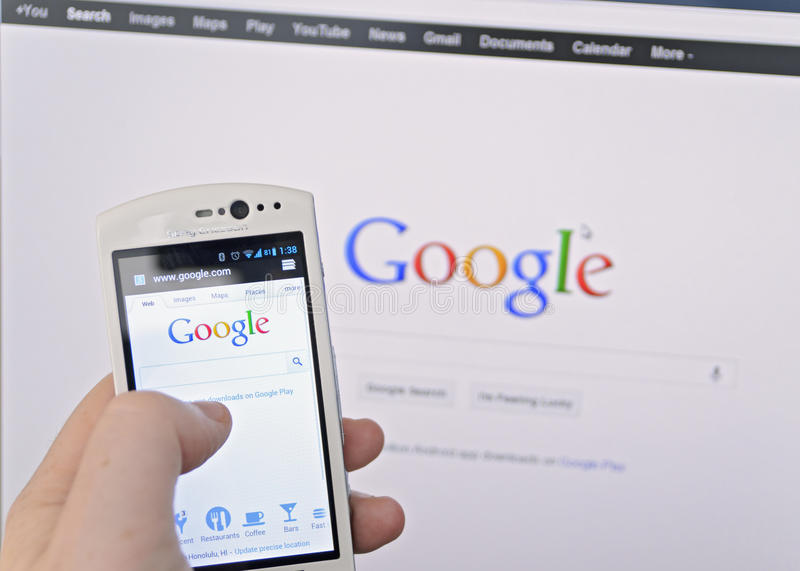 Google search stock photography