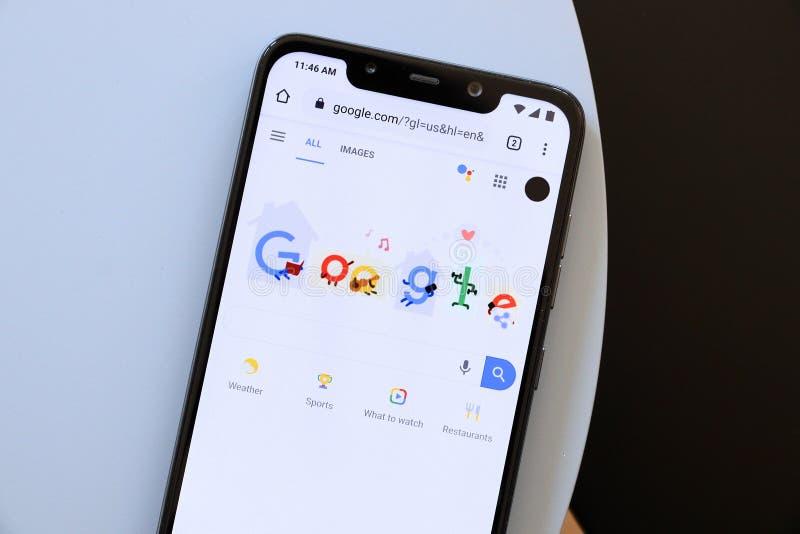 Google-Suche lizenzfreie stockbilder
