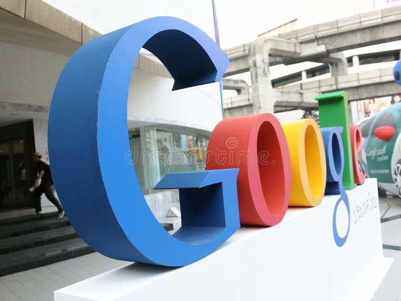 google tecken royaltyfri foto
