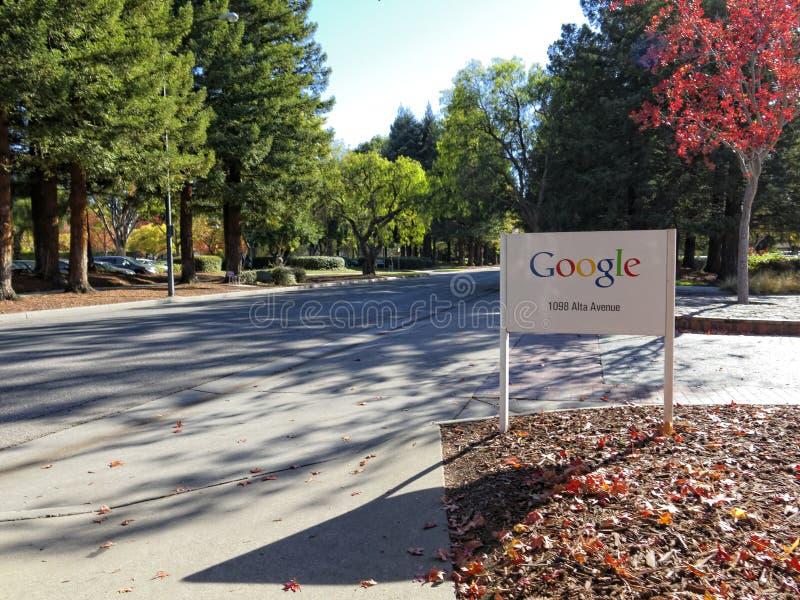 Google-teken in Mountain View