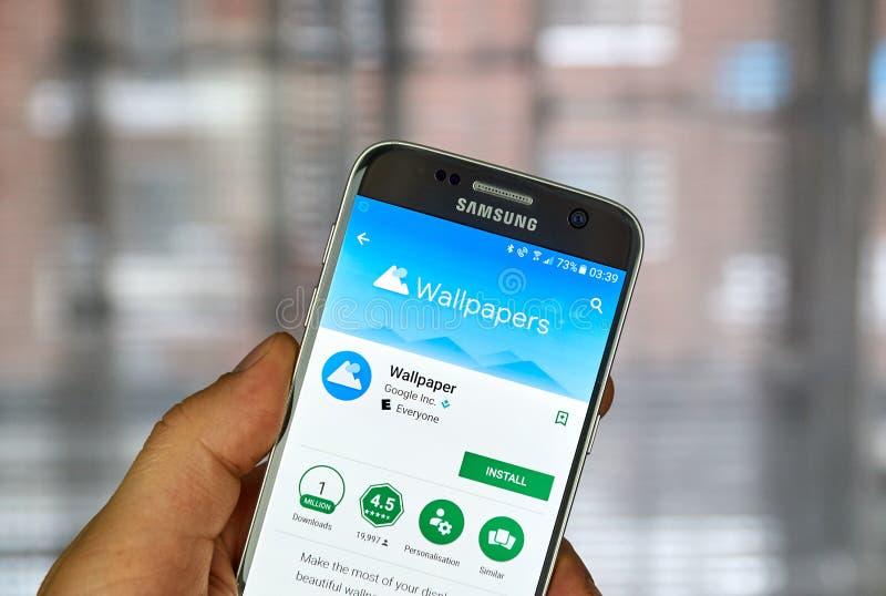 Google Wallpapers el app imagenes de archivo