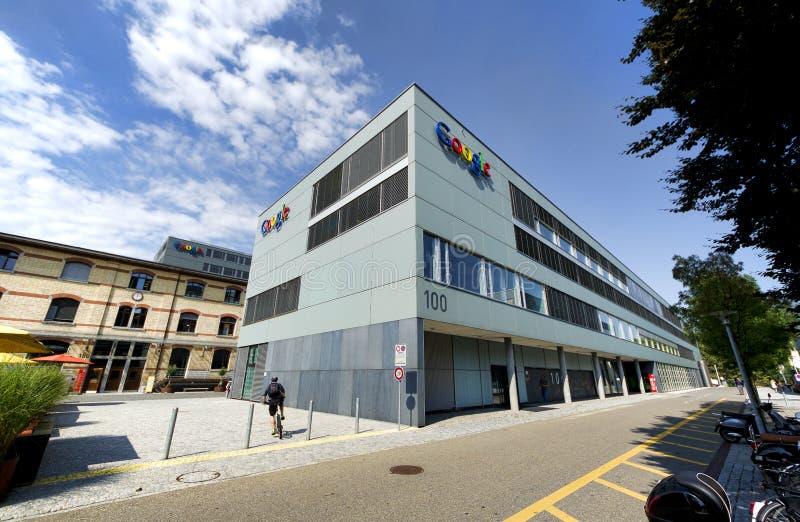 Google Zurich, Szwajcaria Zdjęcie Editorial