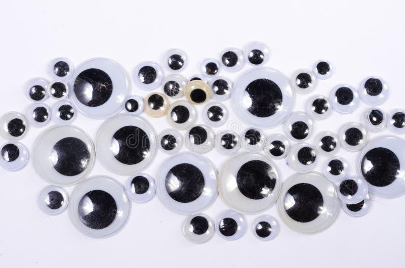 Googly глаза стоковые фото