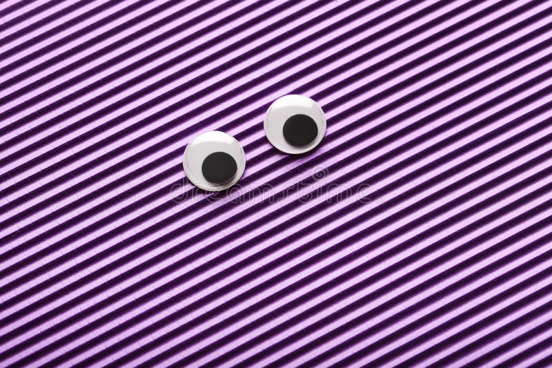 Googly Augen stockfoto