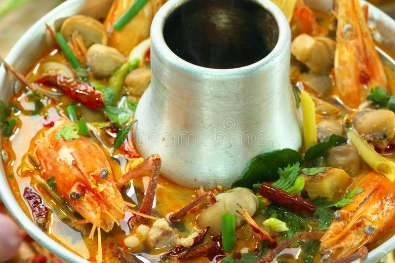 Goong de Tom Yum foto de stock royalty free