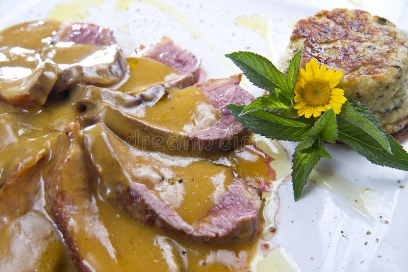 Download Goose breast stock image. Image of chef, place, course - 21296451