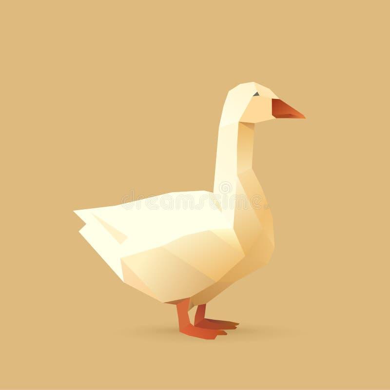 Goose royalty free illustration