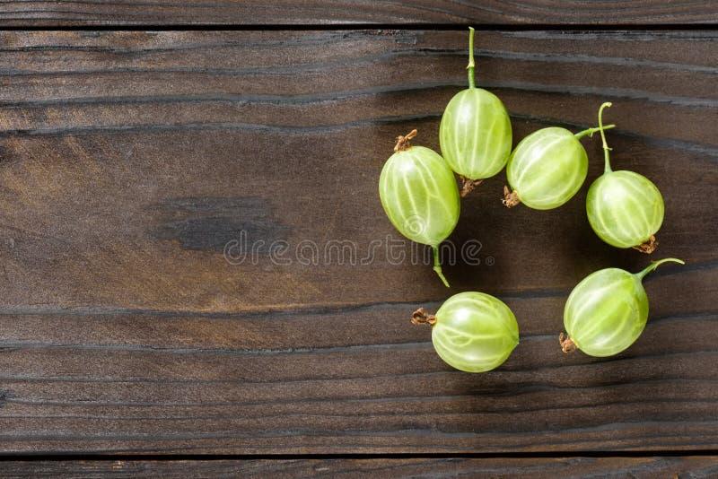 Gooseberries frescos imagens de stock