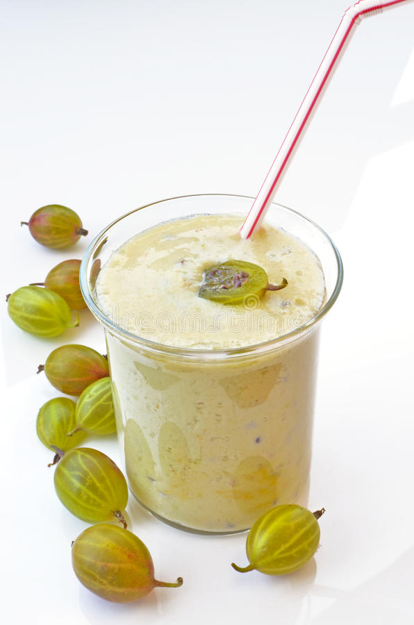 Download Gooseberries smoothie stock photo. Image of food, dessert - 20988272