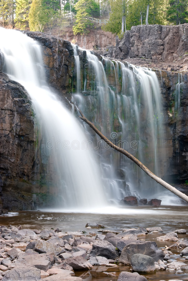 Gooseberry Falls (lower fall) stock photography