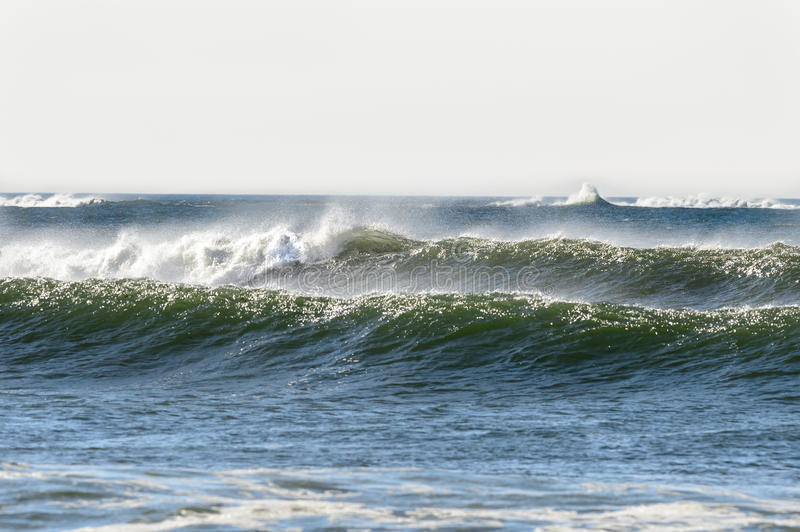 Gooseberry Neck surf royalty free stock photography