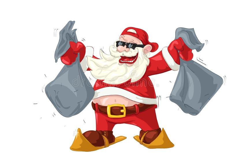 Gop-einde Kerstman vector illustratie