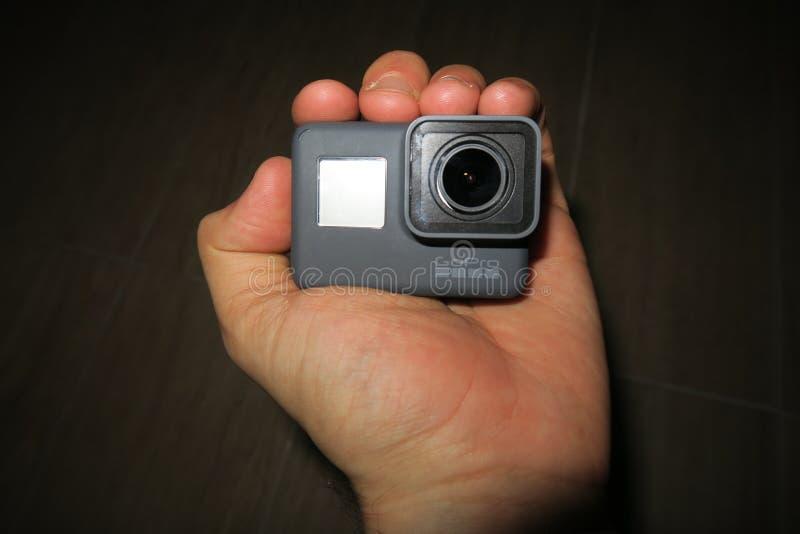 GoPro英雄5 免版税图库摄影