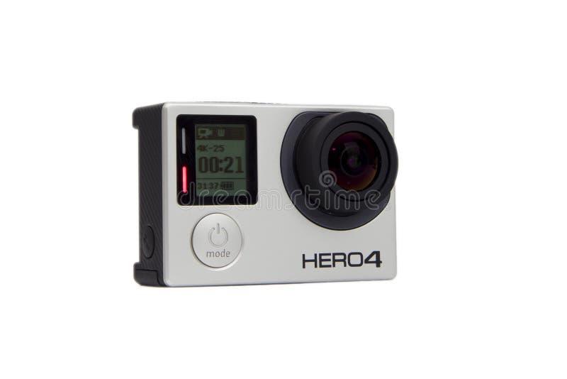 Gopro Hero4 Black Edition Action Camera royalty free stock photos